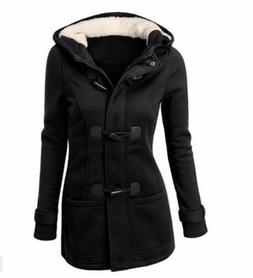 Hooded Winter Parka Plus Size <font><b>Women</b></font> Thic