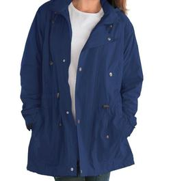Women's Dark Blue Lined Coat Jacket Size 2x, 26w, 28w, 3x, 3
