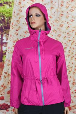Columbia Auroras Wake II Womens Waterproof Rain Jacket XS,L,
