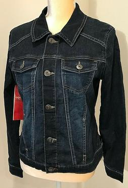 Wrangler Authentics Jean Jacket Womens Medium NWT
