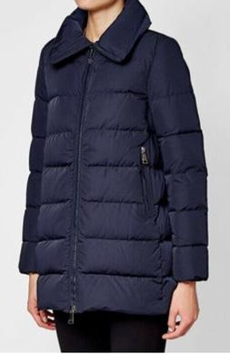Barely Worn Women's Navy Moncler Puffer Down Jacket