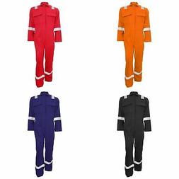 bizweld iona flame resistant work overall coverall