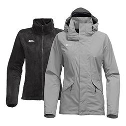 The North Face Women's Boundary Triclimate Jacket - Mid Grey