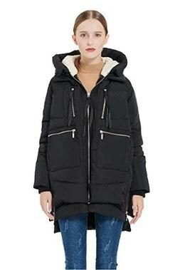 Brand New, Orolay Thickened Down Jacket, Black, Women S