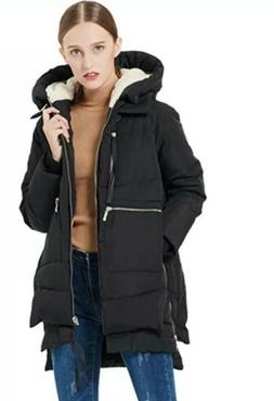 Brand New, Orolay Thickened Down Jacket, Black, Women