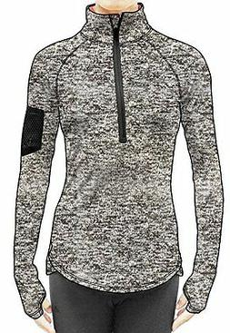 Camping Hiking Icyzone Womens Workout Yoga Track Jacket 1/2