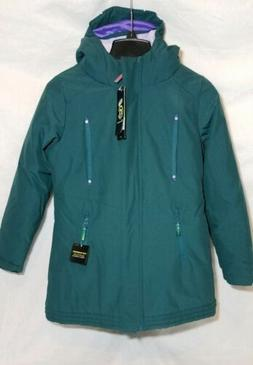 Champion Women's Ladies Hooded Parka Jacket Jade Size Large