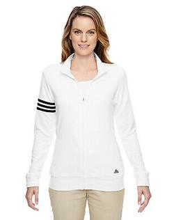 Adidas Womens Climalite 3-Stripes Pullover A191 -White/Black