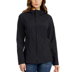 32 Degrees Cool Women's Waterproof Rain Jacket Black Size: M