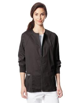 Cherokee Core Stretch Zip Jacket - Black M, Black