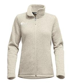 The North Face Women's Crescent Full Zip - Wild Oat Heather