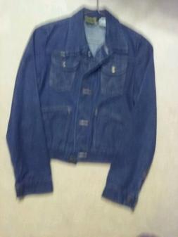Wrangler Denim Jacket Women's Size 9 From the 1970's made in