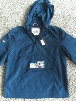 TOMMY HILFIGER DENIM Women's  half zip Windbreaker Jacket wi
