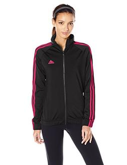adidas Women's Designed-2-Move Track Jacket, Black/Energy Pi