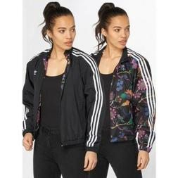 DT8722 Womens ADIDAS OS  REVERSIBLE TRACK FLORAL Jacket RRP