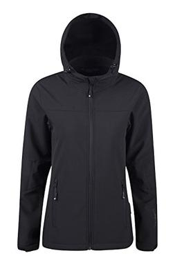 Mountain Warehouse Exodus Womens Softshell Jacket - Cool Sum