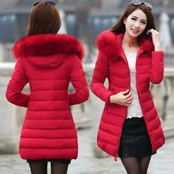 Fashion women's coat long jacket cotton padded thicker cotto