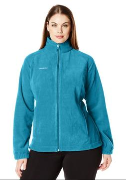 COLUMBIA Fast Trek II Full-Zip Fleece Jacket Women PLUS 1X D