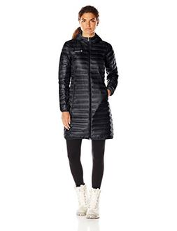 Columbia Women's Flash Forward Long Down Jacket, Black, Smal