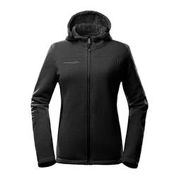 OutdoorMaster Women's Fleece Jacket - Waterproof & Stain Rep