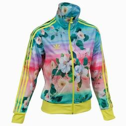 FLORALINA FLORAL NEW ADIDAS WOMEN FIREBIRD FARM TRACK TOP JA