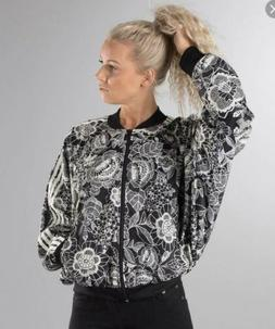 Adidas FLORIDO CAPE LACY FLORAL Jacket Women Size Rare Small