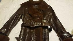 Glamorous Brown Fur Jacket For Women