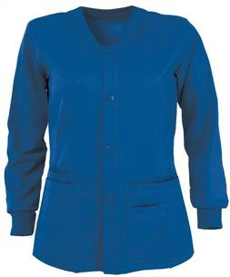 Grey's Anatomy Scrub Jacket 4435 New Royal Blue Sporty Warmu
