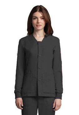 Grey's Anatomy Women's 4435 Scrub Jacket - Black