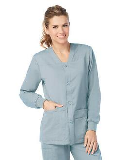 Grey's Anatomy Women's 4435 Sport Button Front Scrub Jacket-