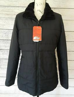 The North Face Harway Black Womens Reversible Fleece Jacket