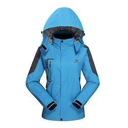 Diamond Candy Hooded Softshell Waterproof Jacket Outdoor Wom