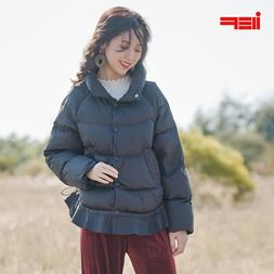 IEF 2019 Winter Solid Aline Thick Short <font><b>Down</b></f