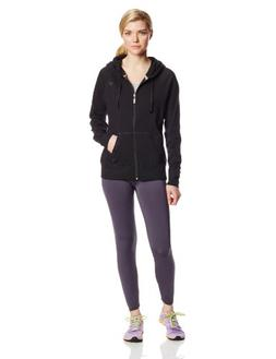 Champion Women's Jersey Jacket, Black, Medium