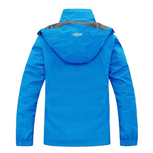 Wantdo Thick Ski Jacket Raincoat Cotton Winter with Casual wear