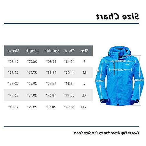 Wantdo Women's Thick Ski Raincoat Cotton Padded Parka with Casual wear