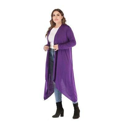 2X 4X 5X Lady/Women Long Sleeve Coat