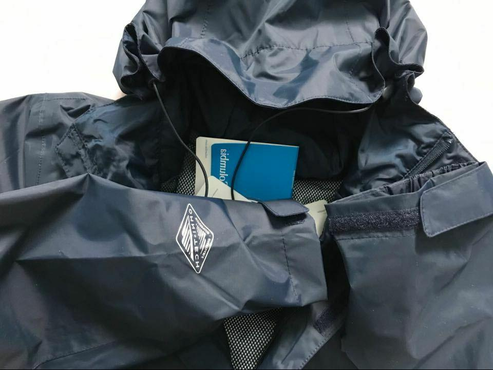 $90 Columbia Arcadia II Omni-Tech Waterproof Rain