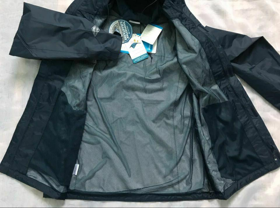 $90 Columbia Arcadia Waterproof Rain Jacket Packable L