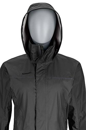 Marmot PreCip Waterproof Rain Jacket, Black, Medium