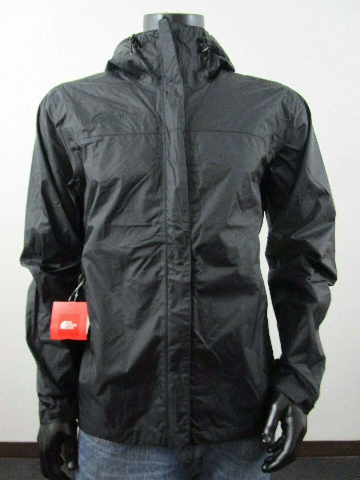 d02b0c6f7 Mens TNF The North Face Venture Dryvent Waterproof Hooded Rain Jacket -  Black