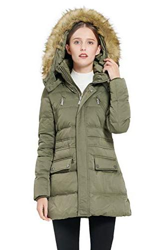 Orolay Women's Thickened Jacket L