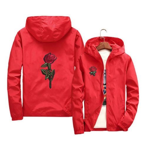 US Windbreaker Jacket Outdoor Running Lovers