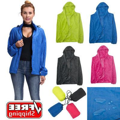 Women Waterproof Windproof Outdoor Bicycle Coat