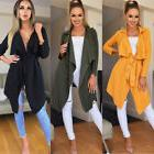Women Long Sleeve Knitted Cardigan Loose Casual Sweater Outw