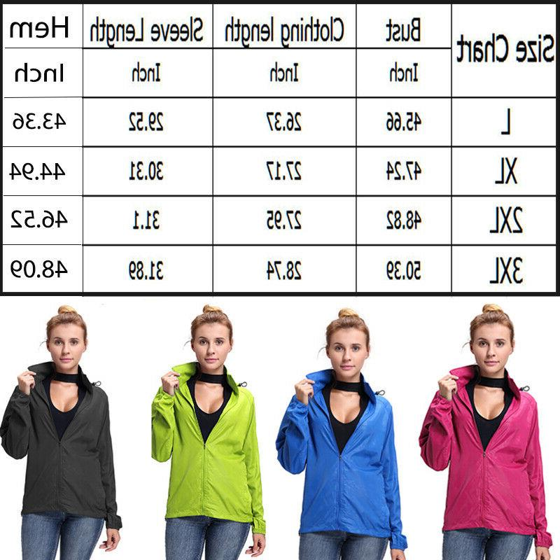 Women Waterproof Outdoor Coat Portable