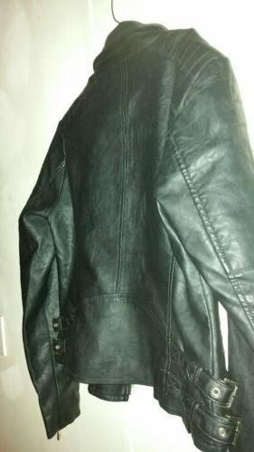 Ana Leather Jacket Size Medium brand without coat