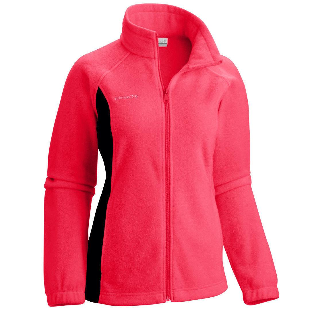 AUTHENTIC COLUMBIA WOMEN's Full-Zip XS-S-M-L-XL-1X-2X-3X