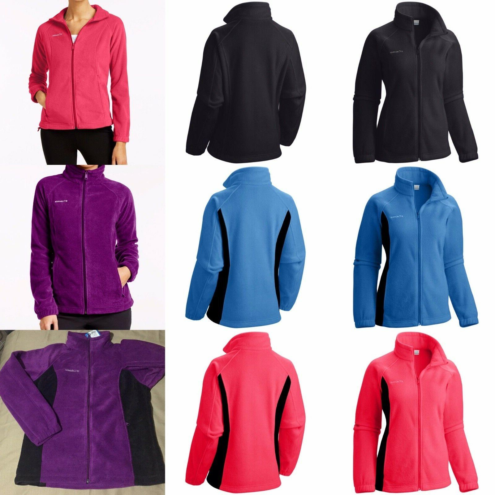 authentic women s winter full zip fleece