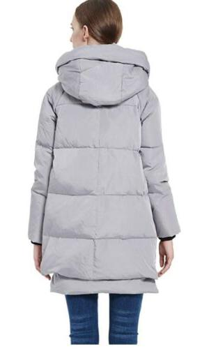 Authentic Women Padded Parka US size 2XS gray
